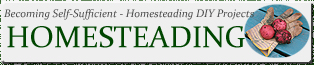 Homesteading Canada - Self-Sufficient - Self-Sufficiency Canada